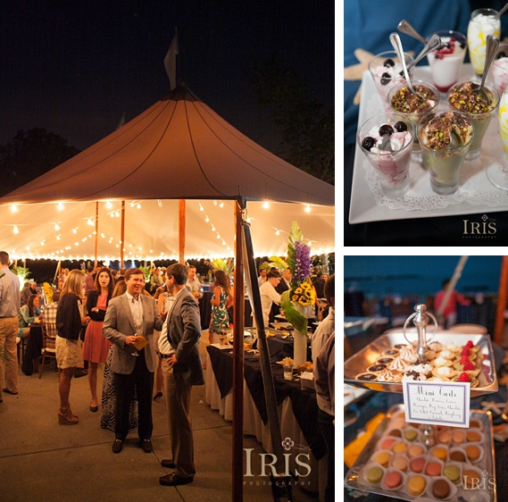 Hometown Wedding Rehearsal Slideshow: Woodway Beach Club Tented Rehearsal Dinner: Allison And