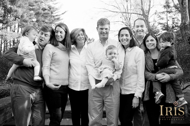 West Hartford Family Photography - Extended Family Photos
