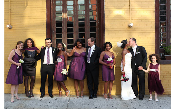 Meatpacking District Meat Packing NYC Wedding Bridal Party Photos