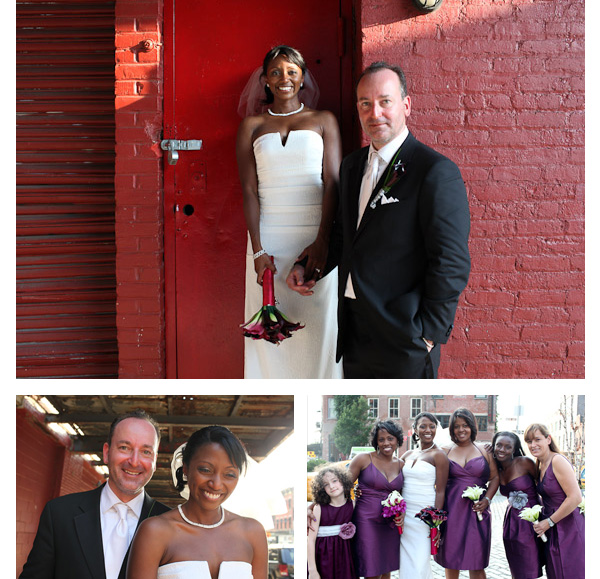 NYC Meat Packing Meatpacking District Bridal Party Photography