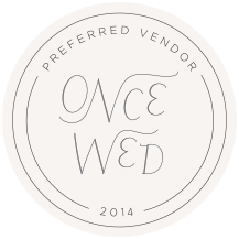Once Wed Preferred Vendors